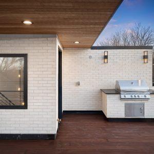 modern exterior elevation
